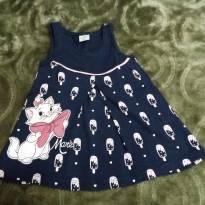 Vestidinho Disney baby Marie - 6 a 9 meses - Disney baby