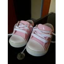 Tenis rosa e branco - 19 - Tricae