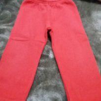 Calça de moletom vermelha - 1 ano - For Girl