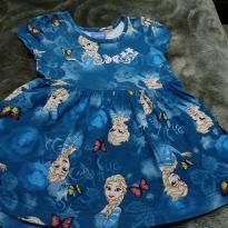 Vestido frozen - Elsa - 1 ano - Disney