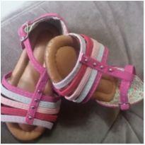 Sandália pink - 20 - Addan Baby