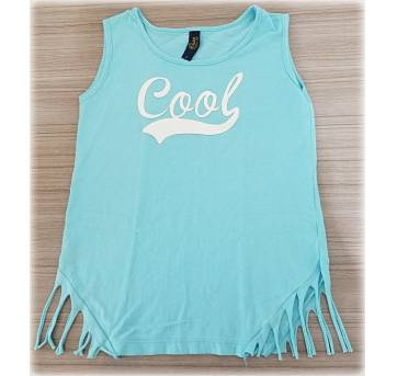 Blusa Cool Azul 6 Anos - 6 anos - Duduka