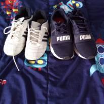 Conjunto de tenis - 35 - Adidas e Puma