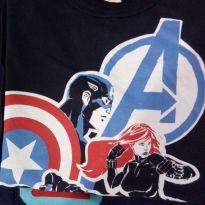 Camiseta herois manga longa - 10 anos - MARVEL