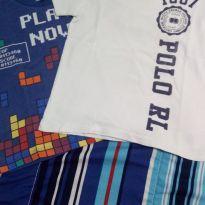 Kit 2 camisetas - 3 anos - Polo by Ralph Lauren (Replica) e Cativa