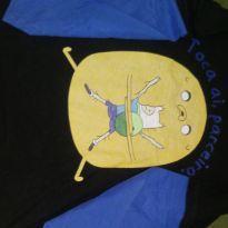 Camiseta manga longa ( toca ai parceiro) - 10 anos - Cartoon Network