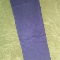 Calça moletom azul marinho. - 14 anos - Artesanal