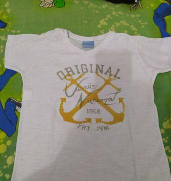Camiseta malha flame - 3 anos - Malwee