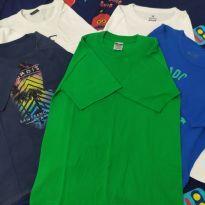 Lote 5 camisetas para o dia a dia - 12 anos - Diversas