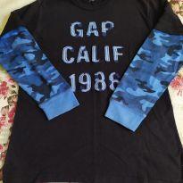 Camiseta manga longa Gap - 13 anos - GAP