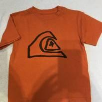 Camiseta laranja Quiksilver - 4 anos - Quicksilver