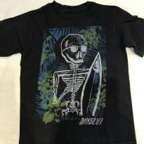 Camiseta caveira Quiksilver - 4 anos - Quicksilver