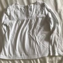 Camiseta longa branca Tommy Hilfiger - 4 anos - Tommy Hilfiger
