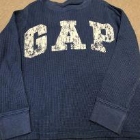 Camiseta longa azul GAP - 5 anos - GAP