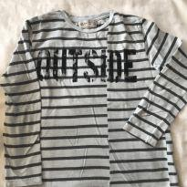 Camiseta longa ZARA - 6 anos - Zara