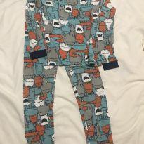 Pijama monstrinhos Carter's - 6 anos - Carter`s