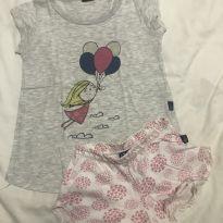 Pijama Balões Hering - 4 anos - Hering Kids