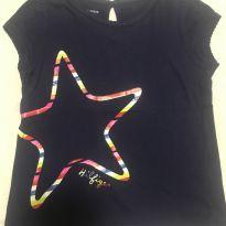 Camiseta Estrela Tommy Hilfiger - 4 anos - Tommy Hilfiger