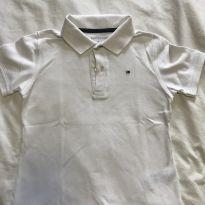 Polo Tommy Hilfiger branca - 6 anos - Tommy Hilfiger