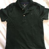 Polo Tommy Hilfiger verde - 6 anos - Tommy Hilfiger