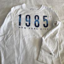 Camiseta longa Tommy Hilfiger - 6 anos - Tommy Hilfiger