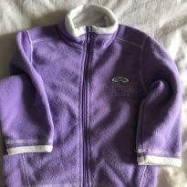 Casaco soft lilás - 2 anos - Sem marca