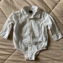 Body/camisa BabyGap - 6 meses - Baby Gap