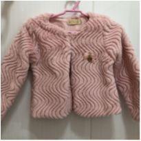 Casaco em pêlo sintético rosa Le Petit Kukiê - 2 anos - Le Petit Kukiê