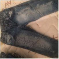 calça jeans mais polo manga comprida - 1 ano - Brandili