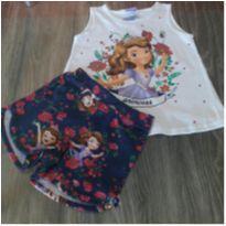 conjunto blusa/short - 2 anos - Malwee