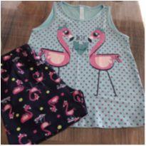 pijama regata/short - 3 anos - Malwee