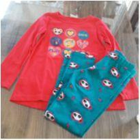 conjunto manga longa /calça leggy - 4 anos - Malwee