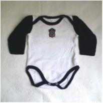 Body manga Longa Corinthians - 6 meses - Best  Baby