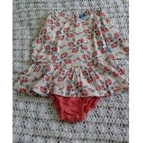 Vestido meia estação Hering Baby - 1 ano - Hering Baby