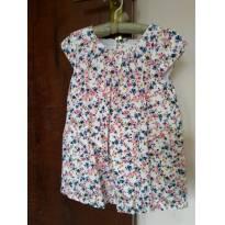 Vestido floridinho Baby Club - 24 a 36 meses - Baby Club