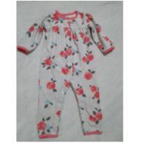 Macacão em fleece Carter`s 18 meses - 18 meses - Carter`s