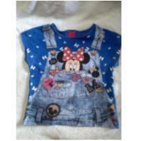Camiseta Minnie Tam 6 - 6 anos - Disney