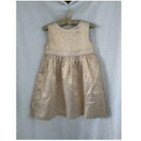 Vestido de festa dourado - 2 anos - Gymboree