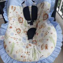 Bebê conforto com capa de tema Safari -  - Tutty Baby