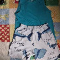 Pijama montado tam 6 - 6 anos - Palomino