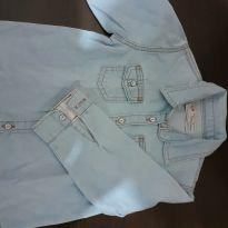 Camisa Jeans Linda - 12 a 18 meses - Baby Denim Collection