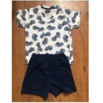 Pijama Motos - Verão - 3 anos - 3 anos - Sem marca