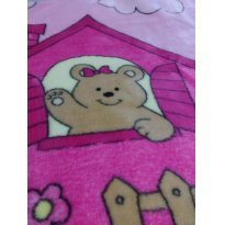 Cobertor Baby Colibri - Rosa -  - Colibri