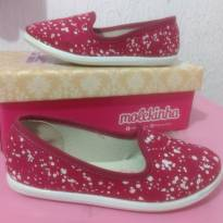 Sapatilha Molekinha Pink - 26 - Molekinha