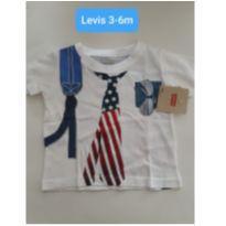 CAMISETA INFANTIL LEVI´S 3M - 3 meses - Levi`s