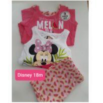 TRIO DISNEY MINNIE MENINAS 18M - 18 meses - Disney