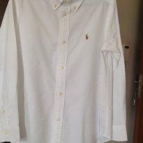 Camisa branca  Polo Rauph Lauren - 7 anos - Ralph Lauren
