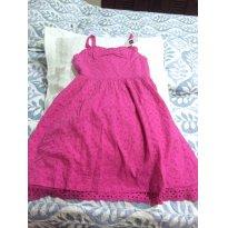 Vestido Laise GAP rosa pink - 8 anos - GAP