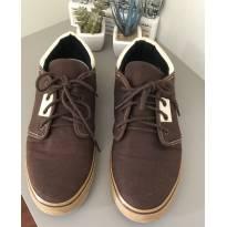 Sapato modelo dockside em lona , marrom/bege, numero: 40 - 36 - Super Star