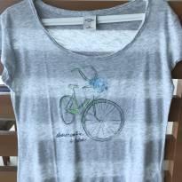 Blusa Abercrombie Bicicleta - 14 anos - Abercrombie